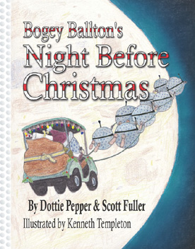 Image of Book Cover for Bogey Ballton's Night Before Christmas