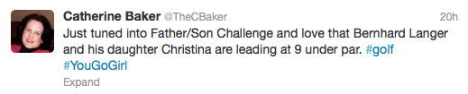 Image of Tweet about PNC Father Son Challenge