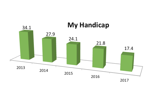 My Handicap History 2017